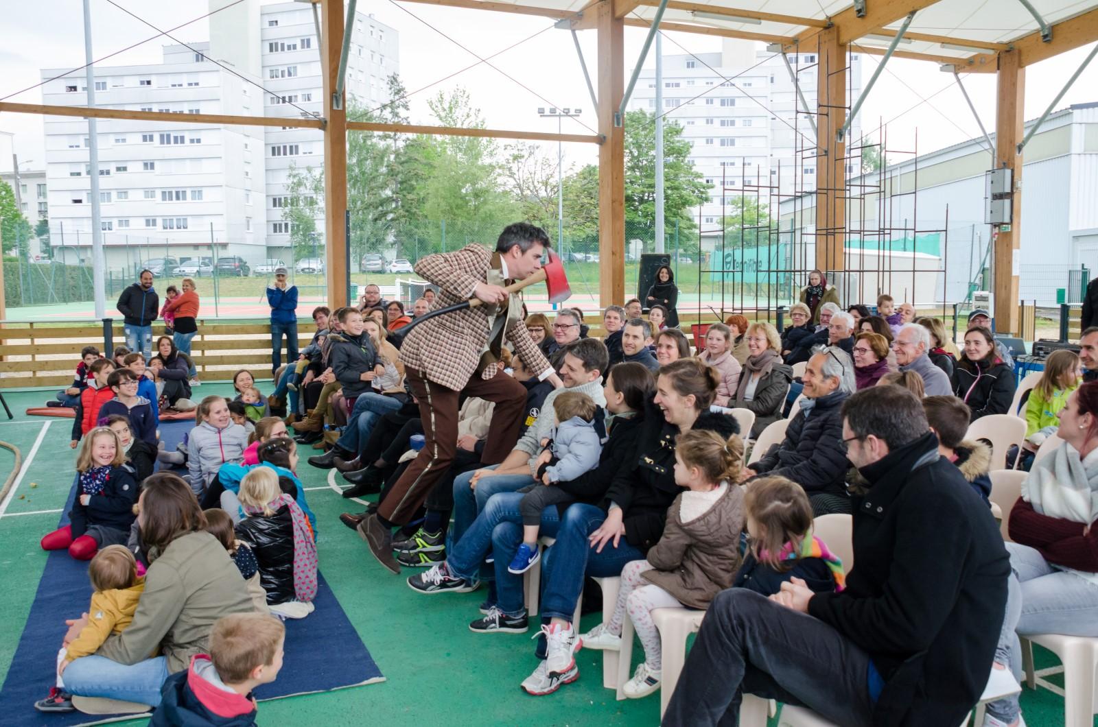 Cloture saison culturelle 2018-2019 Compagnie des Petits Détournements à Bellerive