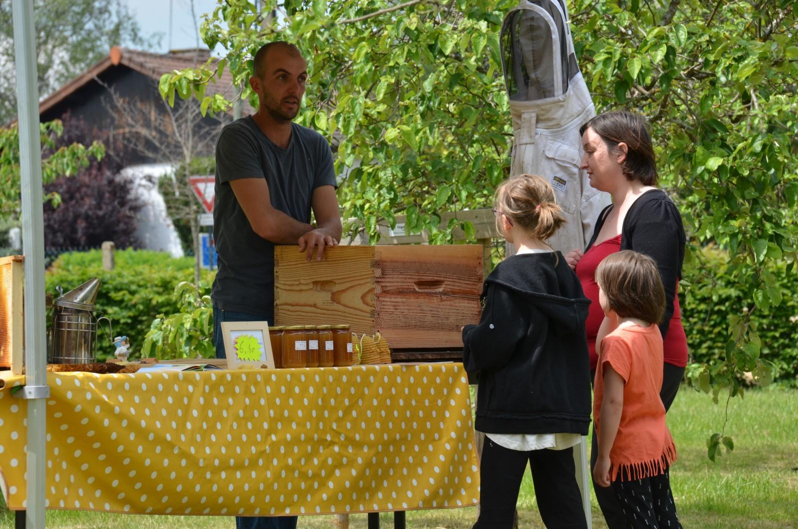 fête de la nature 2019 Bellerive apiculteur