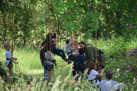 fête de la nature 2019 Bellerive atelier escalade
