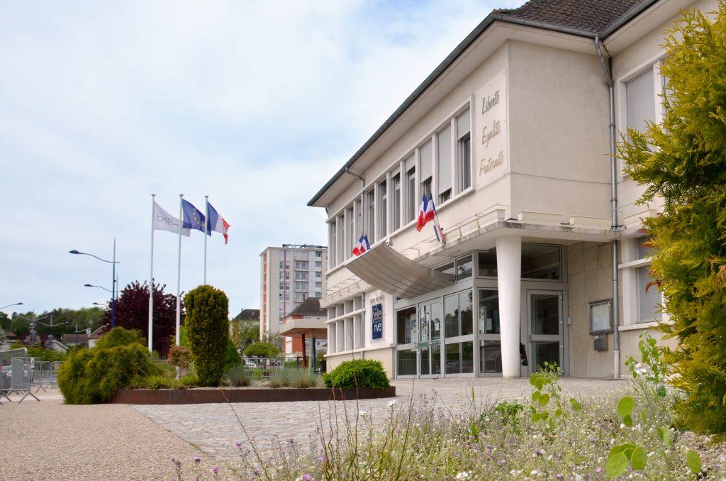 Hôtel de ville de Bellerive sur Allier façade