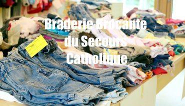 Braderie du secours catholique de Bellerive
