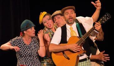 Barber Shop Quartet spectacle d'humour musical
