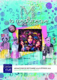 couverture du programme de la médiathèque de Bellerive de septembre 2019