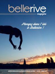 couverture du magazine municipal de Bellerive de juillet 20118