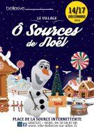 programme des animations du village de Noël de Bellerive Décembre 2018