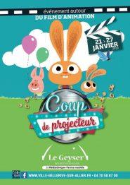 programme festival coup de projecteur films animation bellerive janvier 2019