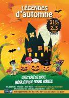 programme des animations des légendes d'automne Halloween bellerive Toussaint 2018