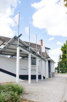 Façade du Geyser salle de spectacle bellerive sur Allier
