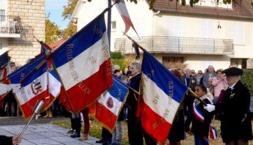 cérémonie de l'armistice du 11 novembre 2018
