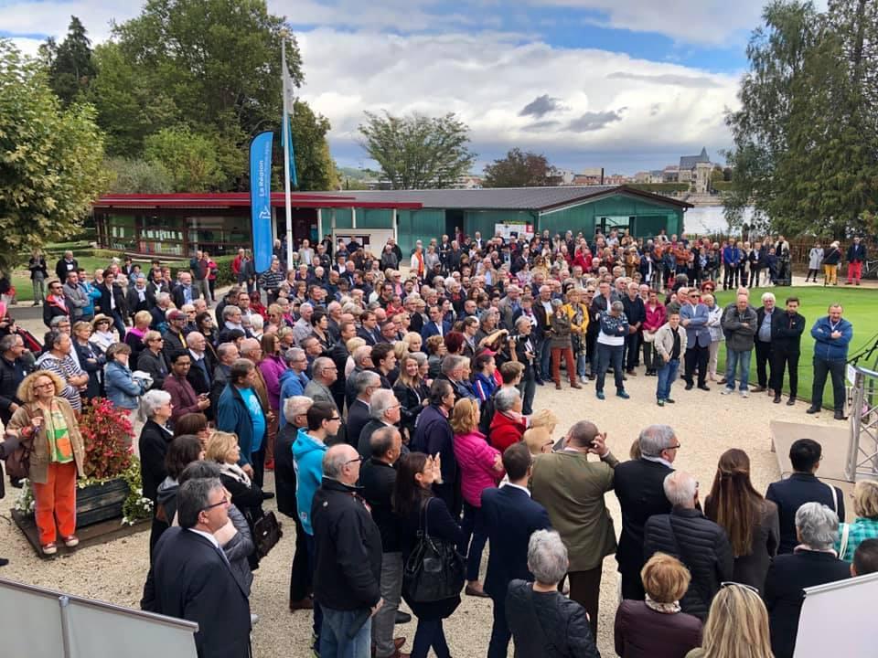 Inauguration des Rives d'Allier le 5 octobre 2019