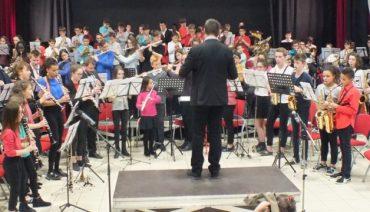 Concert jeunes musiciens société musicale Bellerive