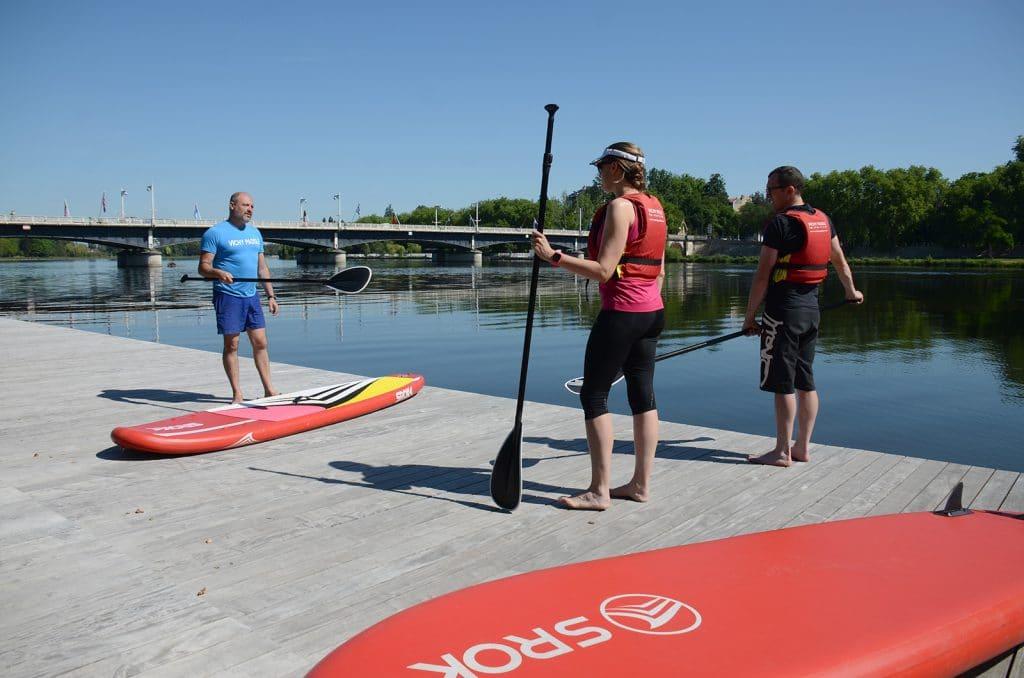 Base de loisirs paddle Ô Belles Rives