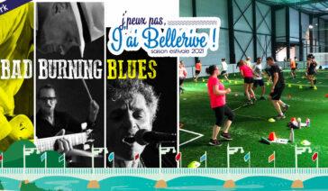 Concert Bad Burning Blue et sport santénergie