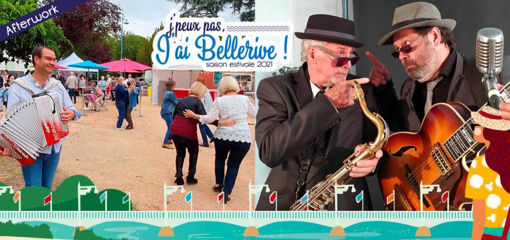 Marché Ô Sources Nocturnes et concert Duo 2 & demi