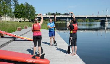 Ô Belle Rives Base de loisirs Vichy paddle